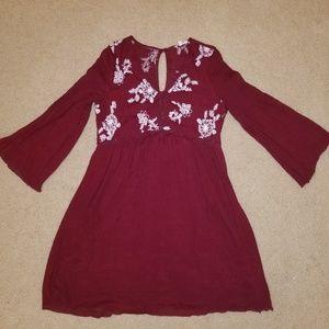 Long Sleeved Fall Dress